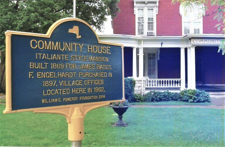 Community House Historic Marker