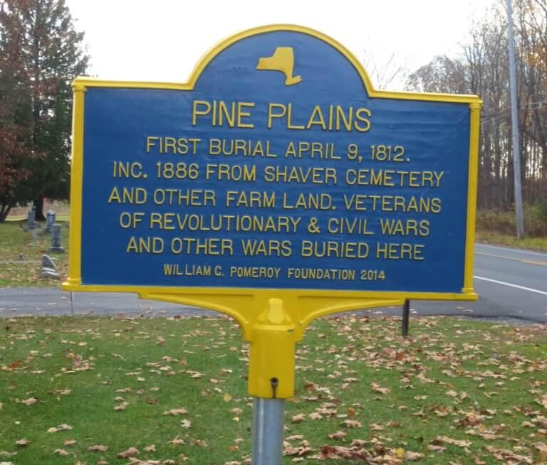 Pine Plains Historic Marker