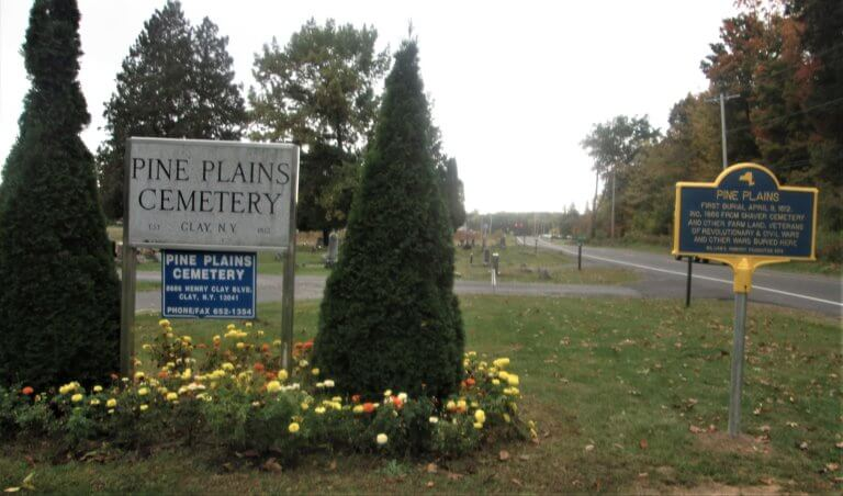Pine Plains Historic Marker