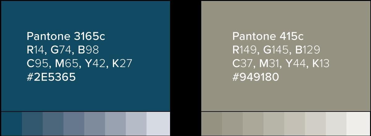 William G Pomeroy Foundation Color Palette
