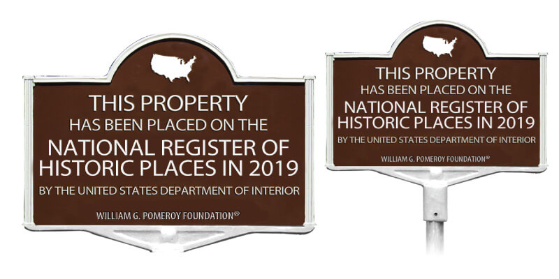 National Historic Marker Graphic