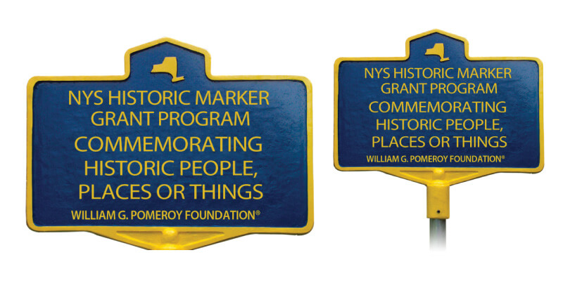 New York State Historic Marker Graphic